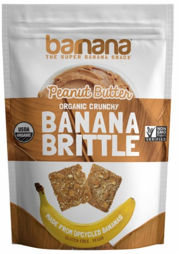 Barnana Peanut Butter Brittle, 3.5 Ounce -- 10 per case. Perspective: front