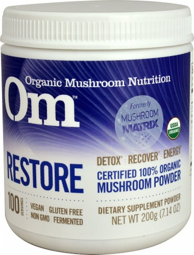 OM  Organic Mushroom Nutrition Restore Perspective: front