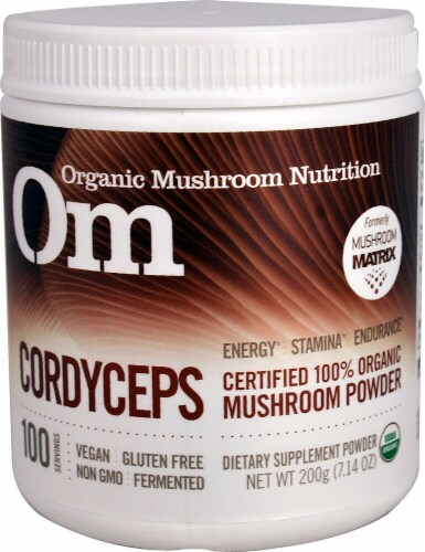 OM  Organic Mushroom Nutrition Cordyceps Perspective: front
