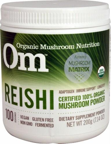 OM  Organic Mushroom Nutrition Reishi Perspective: front