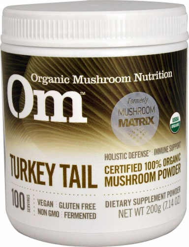 OM  Organic Mushroom Nutrition Turkey Tail Perspective: front