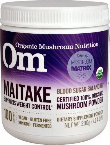 OM  Organic Mushroom Nutrition Maitake Perspective: front