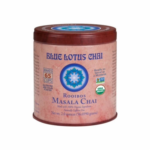 Blue Lotus Chai Rooibos Masala Chai Perspective: front