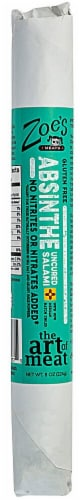 Zoe's Meats  Gourmet Uncured Salami Stick Gluten Free   Absinthe Perspective: front
