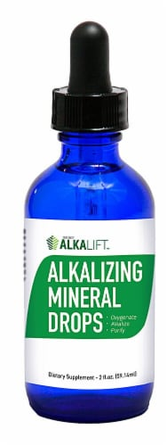 Color Earth  Alkalizing Mineral Drops Perspective: front