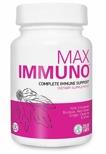 Color Earth  Max Immuno Complete Immune Support Perspective: front