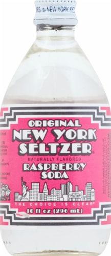 Original New York Seltzer Raspberry Soda Perspective: front