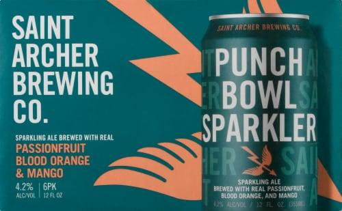 Saint Archer Brewing Company Punch Bowl Sparkler Sparkling Ale Perspective: front