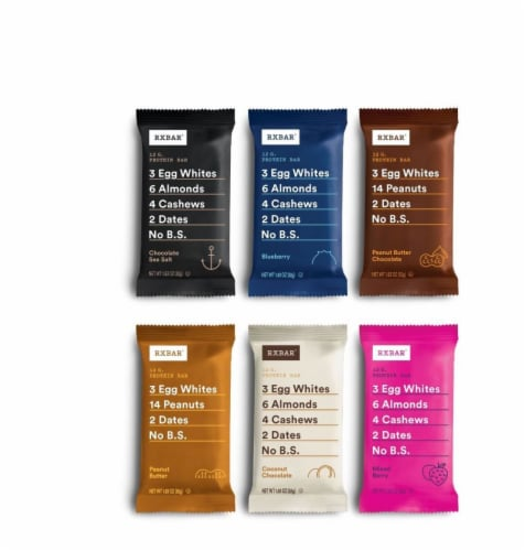 RXBAR Protein Bars Variety Pack 12 Count Perspective: front