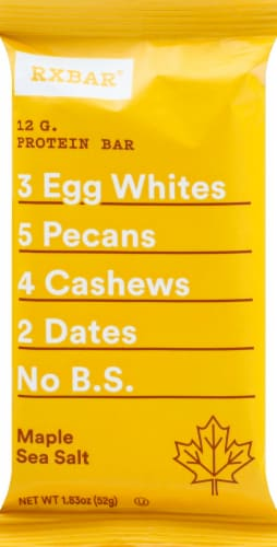 RXBAR Maple & Sea Salt Protein Bar Perspective: front