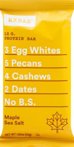 RXBAR Maple & Sea Salt Protein Bar Perspective: front