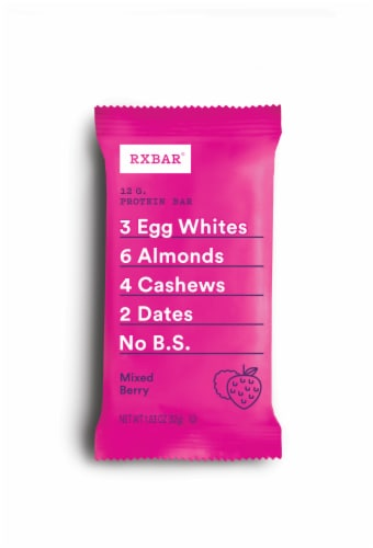 RXBAR Mixed Berry Protein Bar Perspective: front