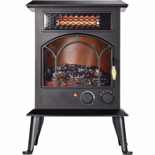 Lifesmart Topside Infared Stove Heater Perspective: front