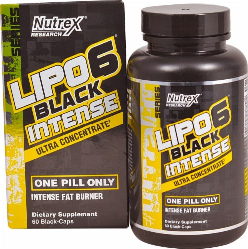 Nutrex Research  LIPO-6 Black® Intense Perspective: front