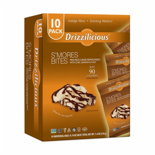 Drizzilicious S'Mores Bites Perspective: front