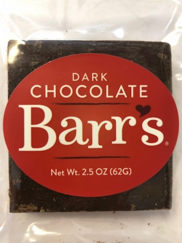 Mrs. Barr's Natural Foods Dark Chocolate Granola Bar Perspective: front