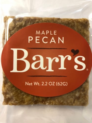 Mrs. Barr's Natural Foods Maple Pecan Granola Bar Perspective: front