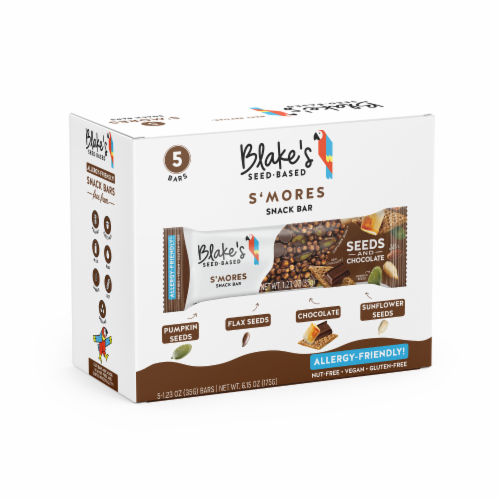 Blake's Seed Based S'mores Snack Bars Perspective: front