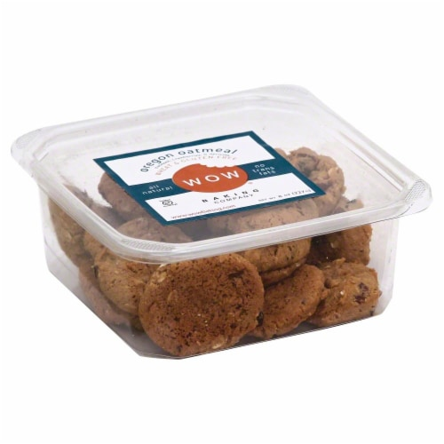 Wow Wheat & Gluten Free Oregon Oatmeal Cookies Perspective: front