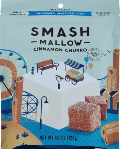 SmashMallow Cinnamon Churro Candy Perspective: front