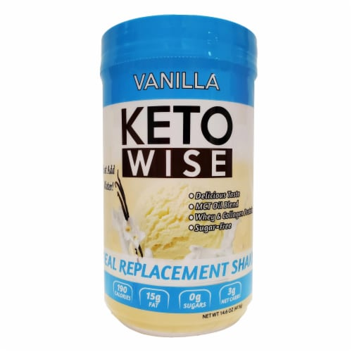 Keto Wise Vanilla Perspective: front