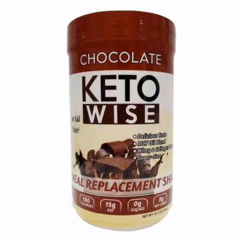 Keto Wise Chocolate Perspective: front