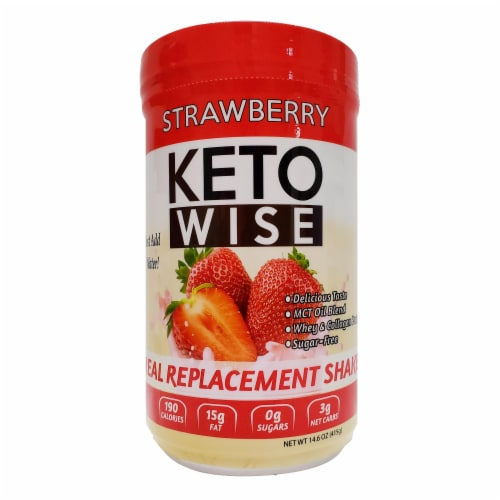 Keto Wise Strawberry Perspective: front
