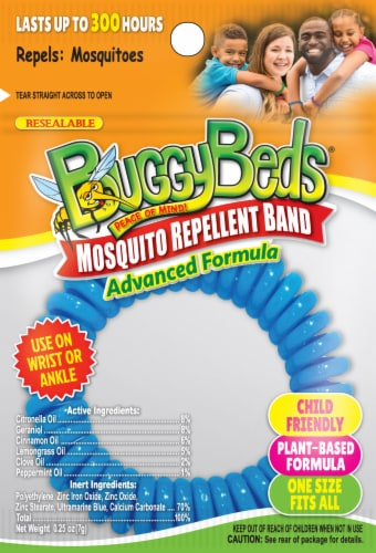 BuggyBands Mosquito Repellent Band - Assorted Perspective: front