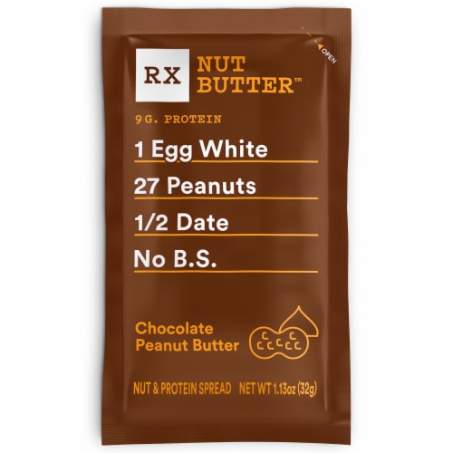 RXBAR Chocolate Peanut Butter Nut & Protein Spread Perspective: front