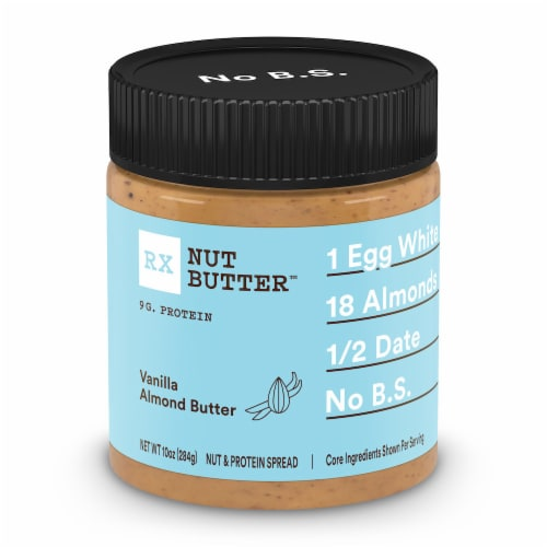 RX Nut Butter Vanilla Almond Butter Spread Perspective: front