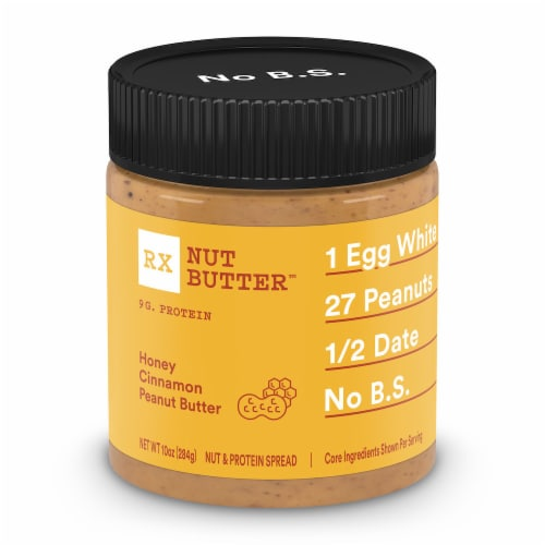 RX Nut Butter Honey Cinnamon Peanut Butter Spread Perspective: front