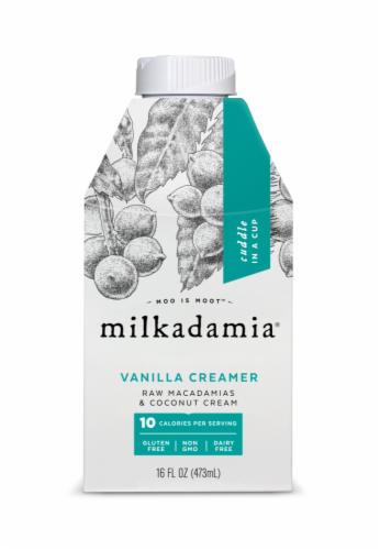 Milkadamia Vanilla Creamer Perspective: front