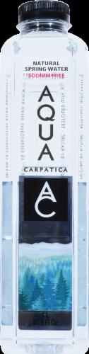 Aqua Carpatica Natural Spring Water Perspective: front