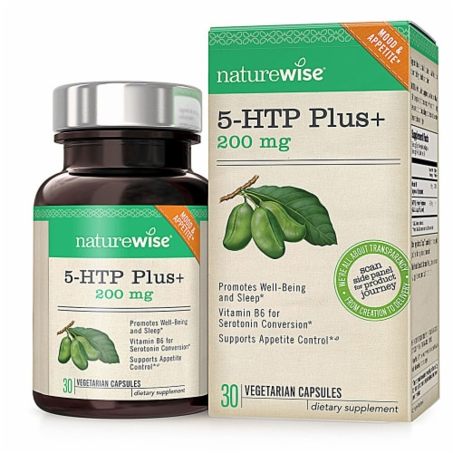 Naturewise  Daily Care Products 5-HTP Plus Perspective: front