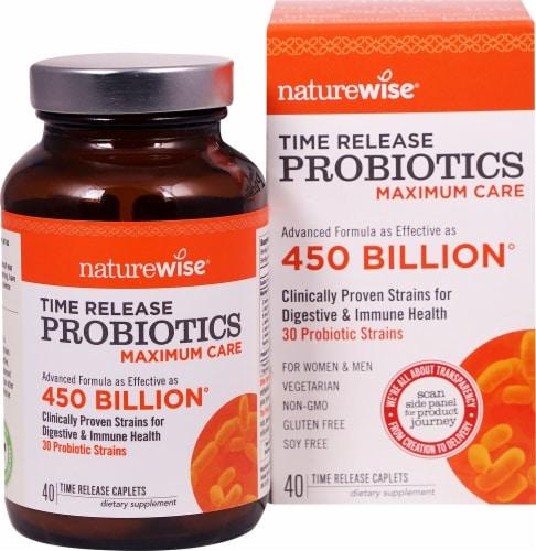Naturewise  Maximum Care Probiotics Perspective: front