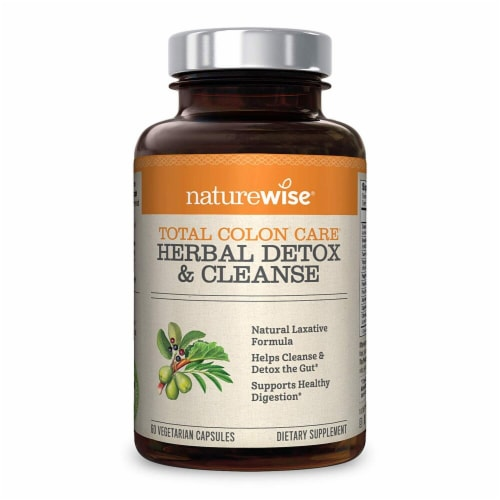 Naturewise  Total Colon Care® Herbal Cleanse Perspective: front