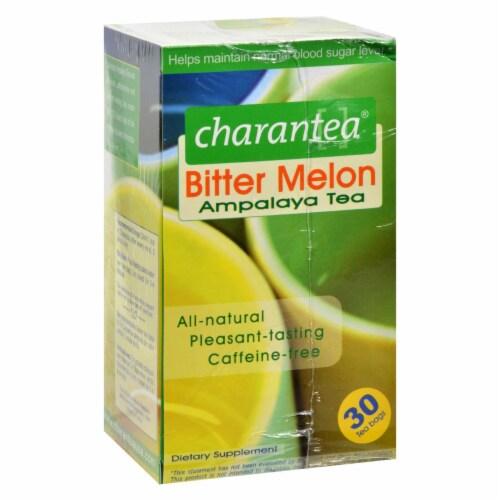 Charantea Ampalaya Tea - Bitter Melon - 30 Tea Bags Perspective: front