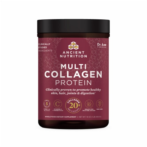 Ancient Nutrition Multi Collagen Protein Powder Perspective: front