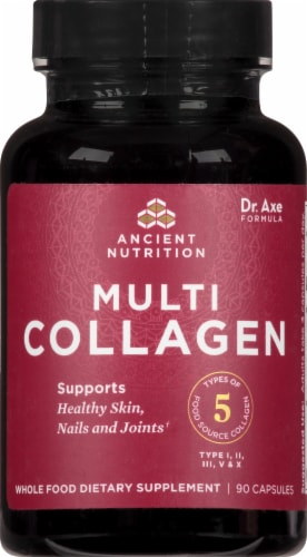 Ancient Nutrition Multi Collagen Protein Capsules Perspective: front