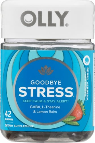 Olly Goodbye Stress Vitamin Gummies Perspective: front
