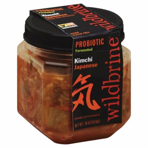 Wildbrine Probiotic Japanese Kimchi Perspective: front