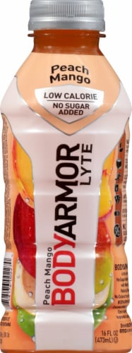 BODYARMOR Lyte Peach Mango Sports Drink Perspective: front