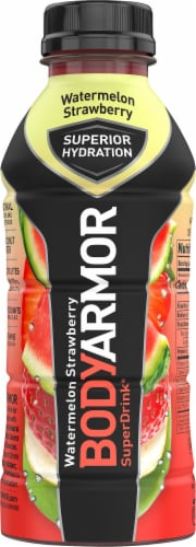 BODYARMOR SuperDrink Watermelon Strawberry Sports Drink Perspective: front