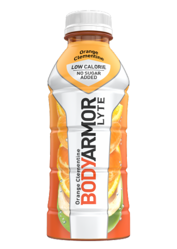 BODYARMOR Lyte Orange Citrus Sports Drink Perspective: front
