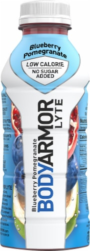 BODYARMOR Lyte Blueberry Pomegranate Sports Drink Perspective: front