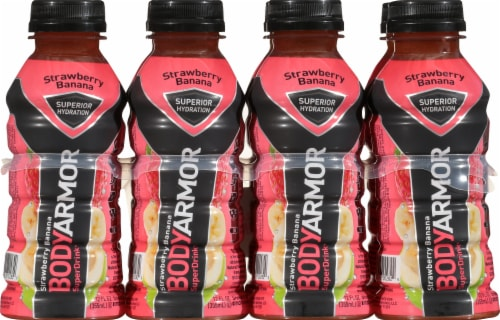BODYARMOR SuperDrink Strawberry Banana Sports Drink Perspective: front