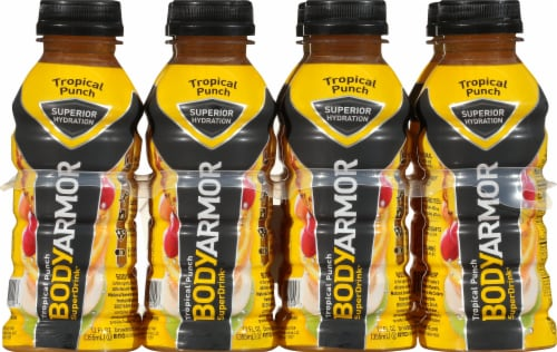 BODYARMOR SuperDrink Tropical Punch Sports Drink Perspective: front