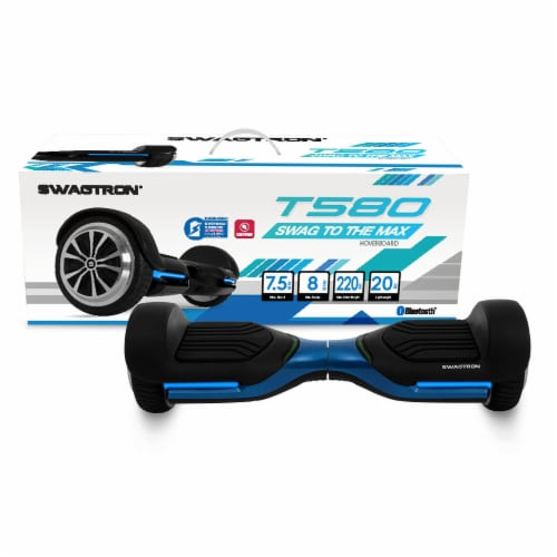 Swagtron App-Enabled Bluetooth Hoverboard with Speaker Perspective: front