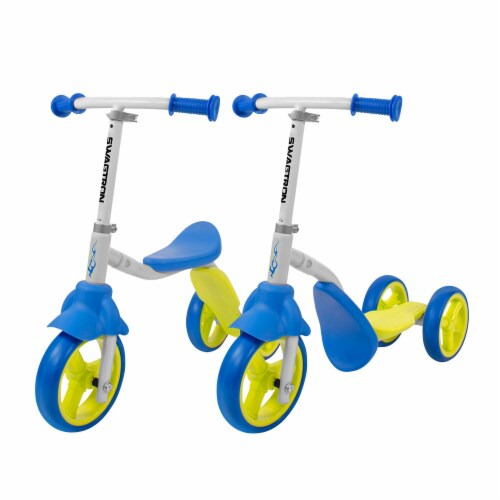 Swagtron K2 Child Walker Toddler 3 Wheel Scooter Perspective: front