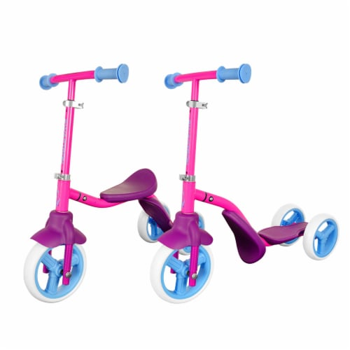 Swagtron K2 Child Walker 2-in-1 Scooter and Tricycle Perspective: front